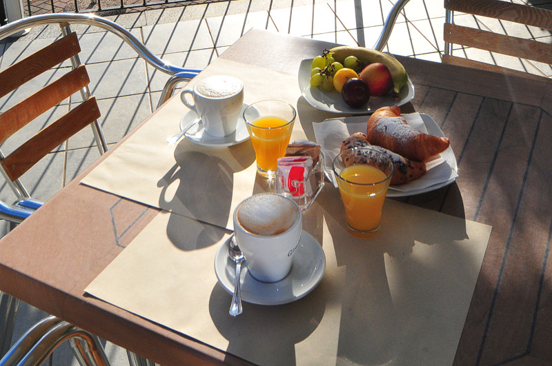 breakfast hotel Domaso lake Como
