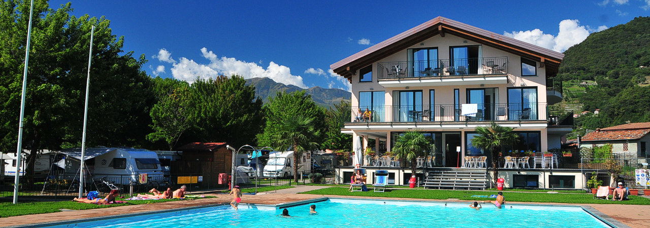 Hotel Comer see Resort Le Vele mit Schwimmbad